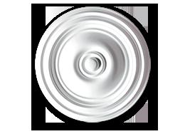 roseta decoração poliestireno carla