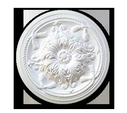 roseta decoração poliestireno k14