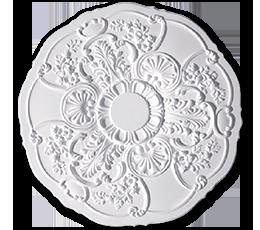 roseta decoração poliestireno k22