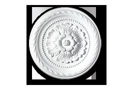 roseta decoração poliestireno k8