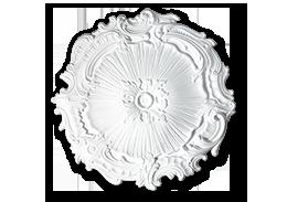 roseta decoração poliestireno mira